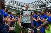 10 August 2019; Devin Toner of Ireland leaves the pitch after the Guinness Summer Series 2019 match between Ireland and Italy at the Aviva Stadium in Dublin. Photo by Brendan Moran/Sportsfile