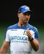10 August 2019; Italy attack coach Mike Catt prior to the Guinness Summer Series 2019 match between Ireland and Italy at the Aviva Stadium in Dublin. Photo by David Fitzgerald/Sportsfile