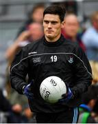 10 August 2019; Diarmuid Connolly of Dublin ahead of the GAA Football All-Ireland Senior Championship Semi-Final match between Dublin and Mayo at Croke Park in Dublin. Photo by Ramsey Cardy/Sportsfile