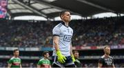 10 August 2019; Stephen Cluxton of Dublin prior to the GAA Football All-Ireland Senior Championship Semi-Final match between Dublin and Mayo at Croke Park in Dublin. Photo by Stephen McCarthy/Sportsfile