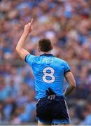 10 August 2019; Brian Fenton of Dublin during the GAA Football All-Ireland Senior Championship Semi-Final match between Dublin and Mayo at Croke Park in Dublin. Photo by Stephen McCarthy/Sportsfile