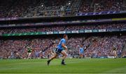 10 August 2019; Brian Howard of Dublin during the GAA Football All-Ireland Senior Championship Semi-Final match between Dublin and Mayo at Croke Park in Dublin. Photo by Stephen McCarthy/Sportsfile