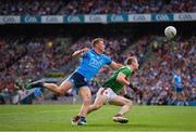 10 August 2019; Colm Boyle of Mayo and Ciarán Kilkenny of Dublin during the GAA Football All-Ireland Senior Championship Semi-Final match between Dublin and Mayo at Croke Park in Dublin. Photo by Stephen McCarthy/Sportsfile