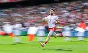 11 August 2019; Mattie Donnelly of Tyrone runs onto the pitch prior to the GAA Football All-Ireland Senior Championship Semi-Final match between Kerry and Tyrone at Croke Park in Dublin. Photo by Brendan Moran/Sportsfile