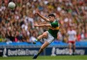 11 August 2019; Paul Geaney of Kerry kicks a point during the GAA Football All-Ireland Senior Championship Semi-Final match between Kerry and Tyrone at Croke Park in Dublin. Photo by Ramsey Cardy/Sportsfile
