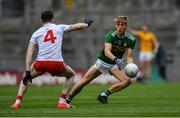 11 August 2019; Killian Spillane of Kerry in action against Rory Brennan of Tyrone during the GAA Football All-Ireland Senior Championship Semi-Final match between Kerry and Tyrone at Croke Park in Dublin. Photo by Piaras Ó Mídheach/Sportsfile