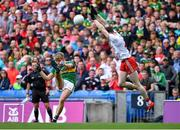 11 August 2019; Killian Spillane of Kerry in action against Rory Brennan of Tyrone during the GAA Football All-Ireland Senior Championship Semi-Final match between Kerry and Tyrone at Croke Park in Dublin. Photo by Brendan Moran/Sportsfile