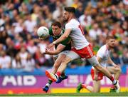 11 August 2019; Tadhg Morley of Kerry is tackled by Mattie Donnelly of Tyrone during the GAA Football All-Ireland Senior Championship Semi-Final match between Kerry and Tyrone at Croke Park in Dublin. Photo by Eóin Noonan/Sportsfile