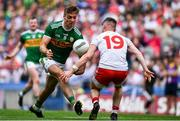 11 August 2019; Adrian Spillane of Kerry is dispossessed by Richie Donnelly of Tyrone during the GAA Football All-Ireland Senior Championship Semi-Final match between Kerry and Tyrone at Croke Park in Dublin. Photo by Brendan Moran/Sportsfile