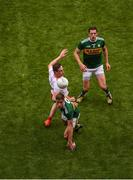 11 August 2019; Adrian Spillane of Kerry in action against Colm Cavanagh of Tyrone during the GAA Football All-Ireland Senior Championship Semi-Final match between Kerry and Tyrone at Croke Park in Dublin. Photo by Daire Brennan/Sportsfile