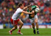 11 August 2019; Stephen O'Brien of Kerry in action against Kieran McGeary of Tyrone during the GAA Football All-Ireland Senior Championship Semi-Final match between Kerry and Tyrone at Croke Park in Dublin. Photo by Eóin Noonan/Sportsfile