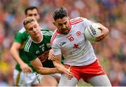 11 August 2019; Mattie Donnelly of Tyrone in action against Gavin Crowley of Kerry during the GAA Football All-Ireland Senior Championship Semi-Final match between Kerry and Tyrone at Croke Park in Dublin. Photo by Ramsey Cardy/Sportsfile