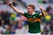 11 August 2019; Tommy Walsh of Kerry celebrates following the GAA Football All-Ireland Senior Championship Semi-Final match between Kerry and Tyrone at Croke Park in Dublin. Photo by Stephen McCarthy/Sportsfile