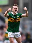 11 August 2019; Tom O'Sullivan of Kerry celebrates his side's goal during the GAA Football All-Ireland Senior Championship Semi-Final match between Kerry and Tyrone at Croke Park in Dublin. Photo by Stephen McCarthy/Sportsfile