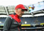 11 August 2019; Tyrone manager Mickey Harte following the GAA Football All-Ireland Senior Championship Semi-Final match between Kerry and Tyrone at Croke Park in Dublin. Photo by Stephen McCarthy/Sportsfile