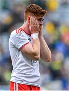 11 August 2019; Conor Meyler of Tyrone after the final whistle of the GAA Football All-Ireland Senior Championship Semi-Final match between Kerry and Tyrone at Croke Park in Dublin. Photo by Brendan Moran/Sportsfile