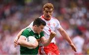 11 August 2019; Paul Murphy of Kerry in action against Peter Harte of Tyrone during the GAA Football All-Ireland Senior Championship Semi-Final match between Kerry and Tyrone at Croke Park in Dublin. Photo by Stephen McCarthy/Sportsfile