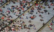 11 August 2019; A view of some of the 33,848 spectators in Croke Park during the GAA Football All-Ireland Senior Championship Semi-Final match between Kerry and Tyrone at Croke Park in Dublin. Photo by Daire Brennan/Sportsfile
