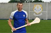 11 August 2019; Dublin hurler Eamonn Dillon a from Naomh Fionbarra GAA Club is pictured at the launch of Community Credit Union's 10-year sponsorship of the new 'Community Park' pitch at Naomh Fionnbarra GAA Club in Cabra, Dublin, marking the first day of Naomh Fionnbarra's Festival Week 2019. Photo by Harry Murphy/Sportsfile