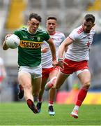 11 August 2019; David Clifford of Kerry in action against Ronan McNamee of Tyrone during the GAA Football All-Ireland Senior Championship Semi-Final match between Kerry and Tyrone at Croke Park in Dublin. Photo by Brendan Moran/Sportsfile