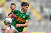 11 August 2019; Gearoid Hassett of Kerry during the Electric Ireland GAA Football All-Ireland Minor Championship Semi-Final match between Kerry and Galway at Croke Park in Dublin. Photo by Brendan Moran/Sportsfile