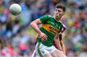 11 August 2019; Emmet O'Shea of Kerry during the Electric Ireland GAA Football All-Ireland Minor Championship Semi-Final match between Kerry and Galway at Croke Park in Dublin. Photo by Brendan Moran/Sportsfile