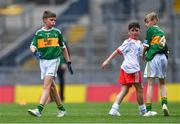 11 August 2019; Matthew Whitmore, St. Columban's PS, Belcoo, Fermanagh, representing Kerry, during the INTO Cumann na mBunscol GAA Respect Exhibition Go Games during the GAA Football All-Ireland Senior Championship Semi-Final match between Kerry and Tyrone at Croke Park in Dublin. Photo by Piaras Ó Mídheach/Sportsfile