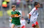 11 August 2019; James O'Malley, Lisnagry NS, Lisnagry, Limerick, representing Kerry, during the INTO Cumann na mBunscol GAA Respect Exhibition Go Games during the GAA Football All-Ireland Senior Championship Semi-Final match between Kerry and Tyrone at Croke Park in Dublin. Photo by Piaras Ó Mídheach/Sportsfile