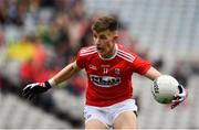 10 August 2019; Conor Corbett of Cork during the Electric Ireland GAA Football All-Ireland Minor Championship Semi-Final match between Cork and Mayo at Croke Park in Dublin. Photo by Sam Barnes/Sportsfile