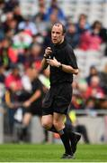 10 August 2019; Referee Niall Cullen during the Electric Ireland GAA Football All-Ireland Minor Championship Semi-Final match between Cork and Mayo at Croke Park in Dublin. Photo by Sam Barnes/Sportsfile