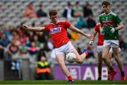 10 August 2019; Hugh Murphy of Cork during the Electric Ireland GAA Football All-Ireland Minor Championship Semi-Final match between Cork and Mayo at Croke Park in Dublin. Photo by Sam Barnes/Sportsfile