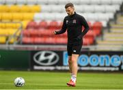 12 August 2019; Andy Boyle during a Dundalk training session at Tallaght Stadium in Tallaght, Dublin. Photo by Eóin Noonan/Sportsfile
