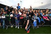 12 August 2019; Jack McCaffrey of Dublin poses for a picture with fans during a meet and greet at Parnell Park in Dublin. Photo by David Fitzgerald/Sportsfile