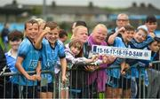 12 August 2019; Supporters during a meet and greet at Parnell Park in Dublin. Photo by David Fitzgerald/Sportsfile
