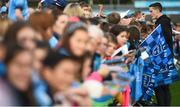 12 August 2019; Brian Fenton of Dublin signs autographs during a meet and greet at Parnell Park in Dublin. Photo by David Fitzgerald/Sportsfile