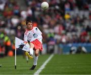 11 August 2019; Turlough Carr, St Francis, Barnesmore, Donegal Town, Donegal, representing Tyrone, during the INTO Cumann na mBunscol GAA Respect Exhibition Go Games during the GAA Football All-Ireland Senior Championship Semi-Final match between Kerry and Tyrone at Croke Park in Dublin. Photo by Ray McManus/Sportsfile
