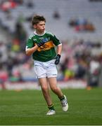 11 August 2019; Matthew Whitmore, St. Columban's PS, Belcoo, Fermanagh, representing Kerry, during the INTO Cumann na mBunscol GAA Respect Exhibition Go Games during the GAA Football All-Ireland Senior Championship Semi-Final match between Kerry and Tyrone at Croke Park in Dublin. Photo by Ray McManus/Sportsfile