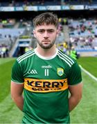 11 August 2019; Kerry captain Jack O'Connor before the Electric Ireland GAA Football All-Ireland Minor Championship Semi-Final match between Kerry and Galway at Croke Park in Dublin. Photo by Piaras Ó Mídheach/Sportsfile