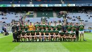 11 August 2019; The Kerry squad before the Electric Ireland GAA Football All-Ireland Minor Championship Semi-Final match between Kerry and Galway at Croke Park in Dublin. Photo by Piaras Ó Mídheach/Sportsfile