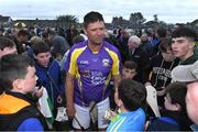 13 August 2019; Former Republic of Ireland international Niall Quinn of team Jim Bolger with supporters after the eighth annual Hurling for Cancer Research, a celebrity hurling match in aid of the Irish Cancer Society in St Conleth's Park, Newbridge. The event, organised by legendary racehorse trainer Jim Bolger and National Hunt jockey Davy Russell, has raised €830,000 to date to fund the Irish Cancer Society's innovative cancer research projects. The final score was: Jim Bolger's Best: 15, Davy Russell's Stars 15. St Conleth's Park, Newbridge, Co Kildare. Photo by Matt Browne/Sportsfile