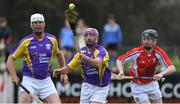 13 August 2019; Former Republic of Ireland international Stephen Hunt of team Jim Bolger in action during the eighth annual Hurling for Cancer Research, a celebrity hurling match in aid of the Irish Cancer Society in St Conleth's Park, Newbridge. The event, organised by legendary racehorse trainer Jim Bolger and National Hunt jockey Davy Russell, has raised €830,000 to date to fund the Irish Cancer Society's innovative cancer research projects. The final score was: Jim Bolger's Best: 15, Davy Russell's Stars 15. St Conleth's Park, Newbridge, Co Kildare. Photo by Matt Browne/Sportsfile