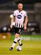 13 August 2019; Chris Shields of Dundalk during the UEFA Europa League 3rd Qualifying Round 2nd Leg match between Dundalk and SK Slovan Bratislava at Tallaght Stadium in Tallaght, Dublin. Photo by Stephen McCarthy/Sportsfile