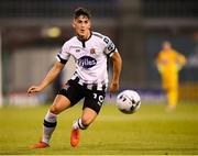 13 August 2019; Jamie McGrath of Dundalk during the UEFA Europa League 3rd Qualifying Round 2nd Leg match between Dundalk and SK Slovan Bratislava at Tallaght Stadium in Tallaght, Dublin. Photo by Stephen McCarthy/Sportsfile