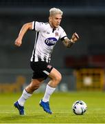 13 August 2019; Seán Murray of Dundalk during the UEFA Europa League 3rd Qualifying Round 2nd Leg match between Dundalk and SK Slovan Bratislava at Tallaght Stadium in Tallaght, Dublin. Photo by Stephen McCarthy/Sportsfile