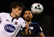 13 August 2019; Seán Gannon of Dundalk during the UEFA Europa League 3rd Qualifying Round 2nd Leg match between Dundalk and SK Slovan Bratislava at Tallaght Stadium in Tallaght, Dublin. Photo by Stephen McCarthy/Sportsfile