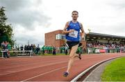 14 August 2019; Joseph Lyons of Dublin Track Club, Co. Dublin, on his way to finishing third in the 3000m Open Men event sponsored by Leisure World during the BAM Cork City Sports at CIT Athletics Stadium in Bishopstown, Cork. Photo by Sam Barnes/Sportsfile