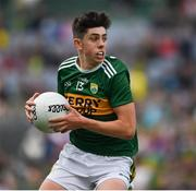 11 August 2019; Dylan Geaney of Kerry during the Electric Ireland GAA Football All-Ireland Minor Championship Semi-Final match between Kerry and Galway at Croke Park in Dublin. Photo by Ray McManus/Sportsfile
