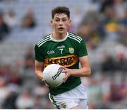 11 August 2019; Sean O'Brien of Kerry during the Electric Ireland GAA Football All-Ireland Minor Championship Semi-Final match between Kerry and Galway at Croke Park in Dublin. Photo by Ray McManus/Sportsfile