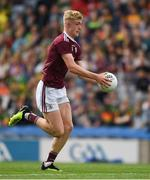 11 August 2019; James McLaughlin of Galway during the Electric Ireland GAA Football All-Ireland Minor Championship Semi-Final match between Kerry and Galway at Croke Park in Dublin. Photo by Ray McManus/Sportsfile