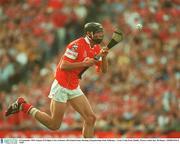 14 September 2003; Setanta O'hAilpin, Cork. Guinness All-Ireland Senior Hurling Championship Final, Kilkenny v Cork, Croke Park, Dublin. Picture credit; Ray McManus / SPORTSFILE *EDI*